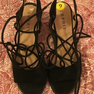 Esprit Lace Up Heels